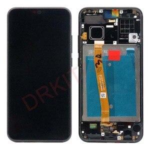 Image 2 - Дисплей DRKITANO для Huawei Honor 10, ЖК дисплей, сенсорный экран с рамкой для Honor 10, ЖК экран + Замена отпечатка пальца