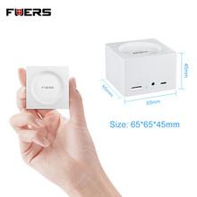 FUERS Mini System alarmowy wi-fi GSM Tuya pilot aplikacji kontrola bezpieczeństwo w domu mały czujnik ruchu PIR System antywłamaniowy tanie i dobre opinie CN (pochodzenie) Drzwi Okna Czujnik DC 5V GPRS Kontrola aplikacji FR Zdalnego kontrolera wireless