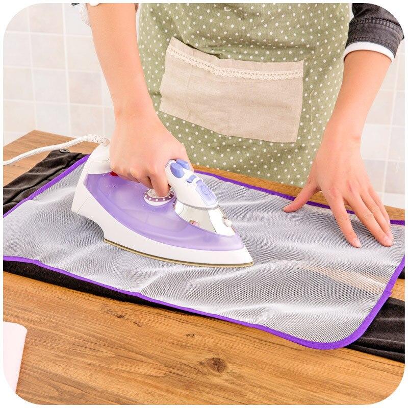 High-temperature Resistant Ironing Insulated Gauze Pad Ironing Protective Clothing Mesh Steam Iron Ironing Base Cloth Ironing Bo