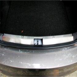 WELKINRY dla skoda Octavia III 5E3 NL3 NR3 2012-2019 tylny zderzak box brama powrót próg drzwi boot scuffproof płyta ochronna wykończenia