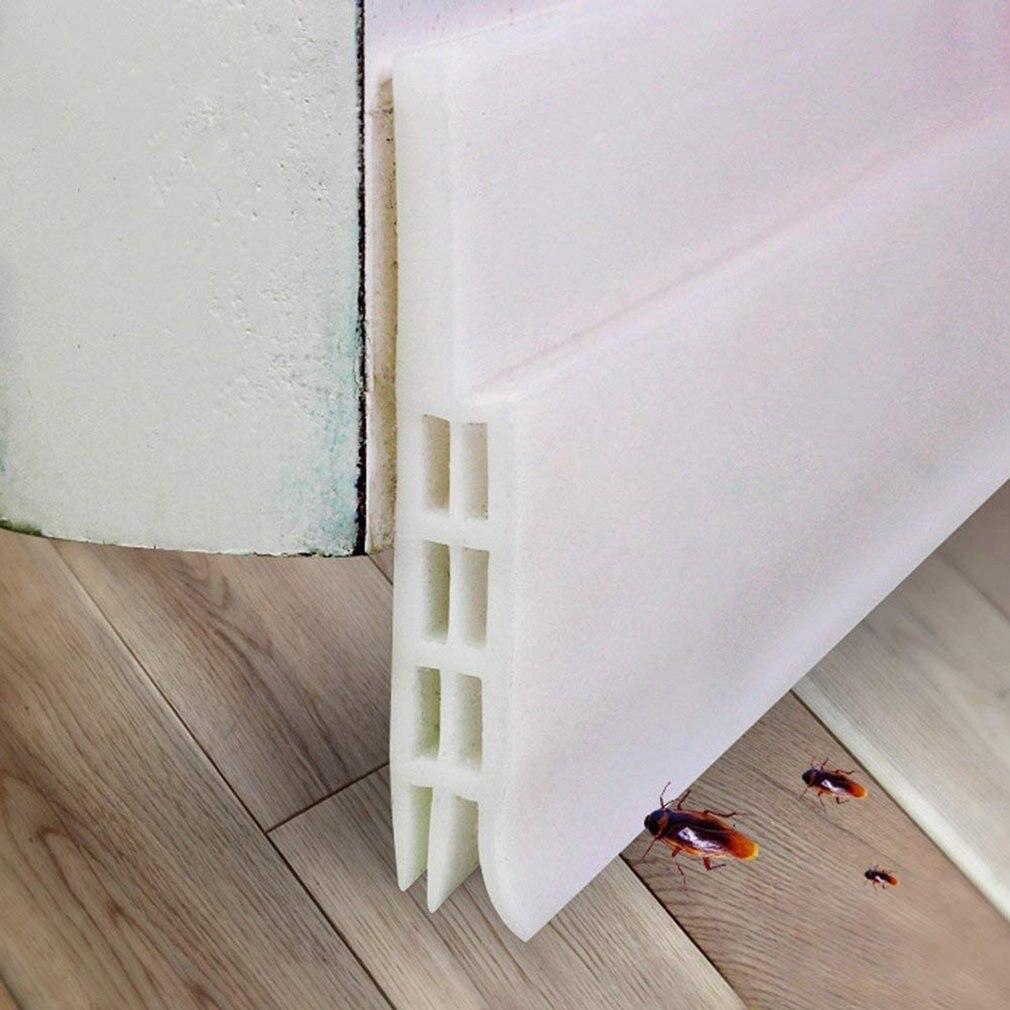 Expower Self Adhesive Door Door Seal Weatherstrip Draft Stopper Against Insect Replacement Gasket Weatherproof Blocker