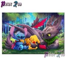 5d Diamond Painting Cartoon Pokemon diamond Embroidery DIY full Square/round Mosaic Picture Rhinestone Handmade Children's gifts