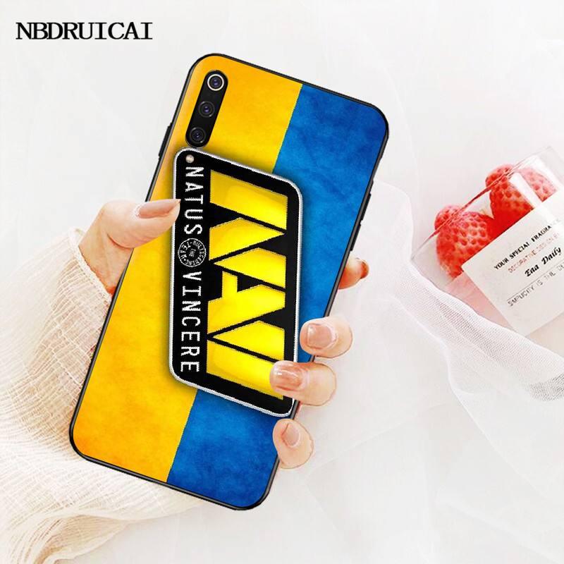 PENGHUWAN Natus Vincere navi Cover Black Soft Shell Phone Case for Redmi Note 8 8A 7 6 6A 5 5A 4 4X 4A Go Pro Plus Prime