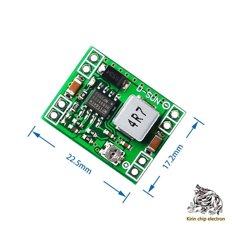 10pcs / Lot DC-DC Step-down Power Module 3A Adjustable Step-down Module Ultra Lm2596 Ultra Small Size DCDC
