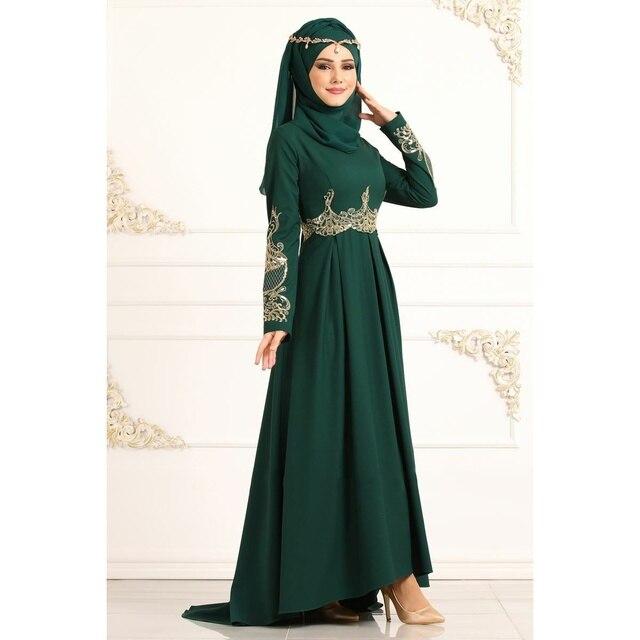 Dubai Muslim Dress Abaya Women Slim Large Swing Applique Long Sleeve Islamic Clothing Moroccan Kaftan Maxi Party Vestidos 5XL