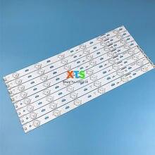 Peças Para konka 16 tira retroiluminação LED para LED39E330CE LED40F3300DC LED40F3300C 35016696 35016697 kj390B30 391 milímetros 6 + 6 Lâmpadas