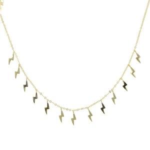 Image 4 - כחול אמייל זהב ברק להתנדנד קסם קולר שרשרת 925 סטרלינג כסף קיץ תכשיטים