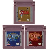 16 Bit Video Spiel Patrone Konsole Karte für Nintendo GBC Die Legende von Zeld Serie Englisch Sprache Edition