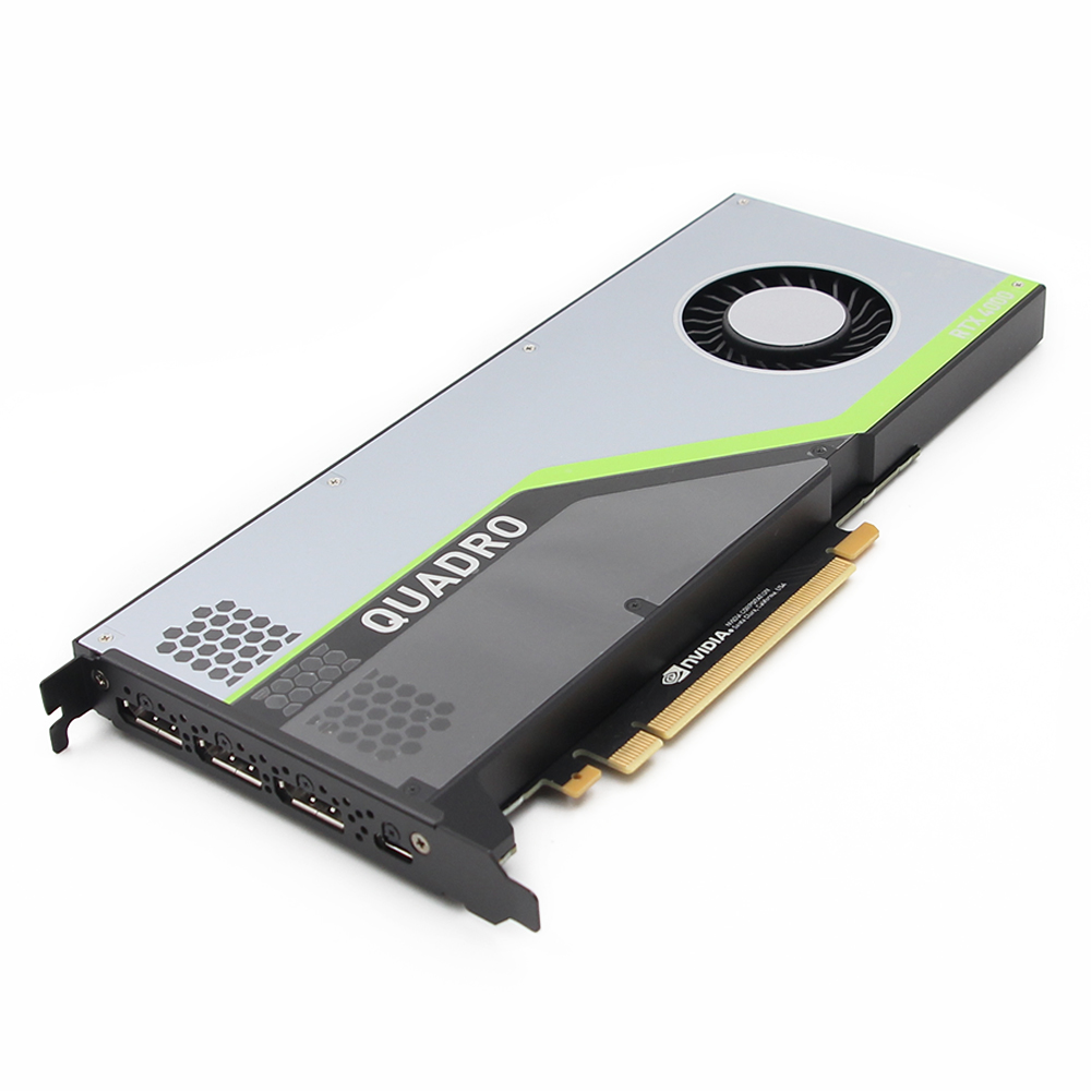 Leadtek QUADRO RTX4000 8GB Turing Architecture Real-time Ray Tracing GPU Graphics Card Used Like New