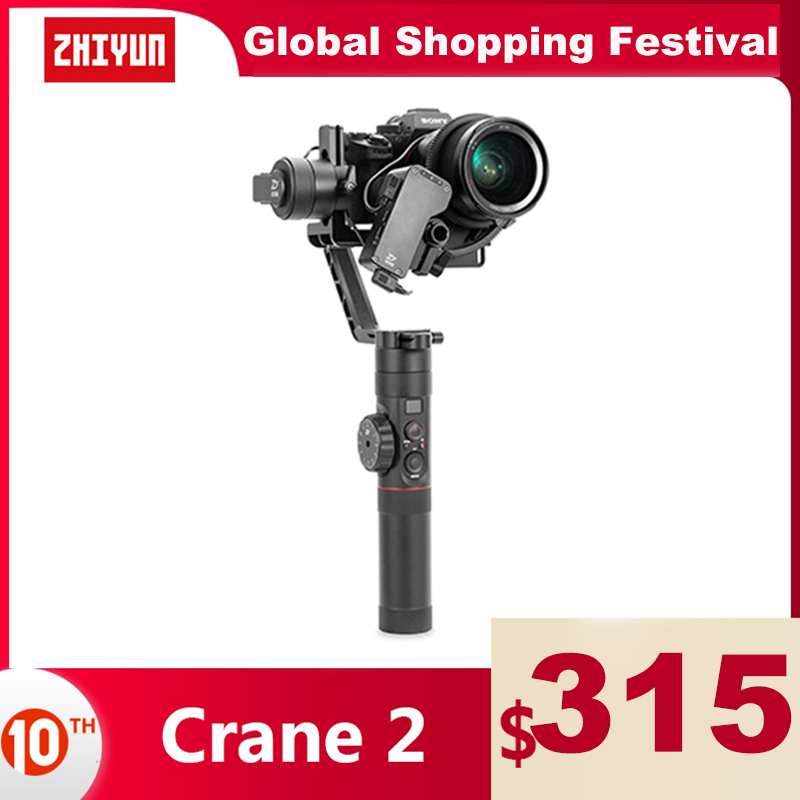 Permalink to ZHIYUN Official Crane 2 3-Axis Gimbal Stabilizer for All Models of DSLR Mirrorless Camera Canon 5D2/3/4 with Servo Follow Focus