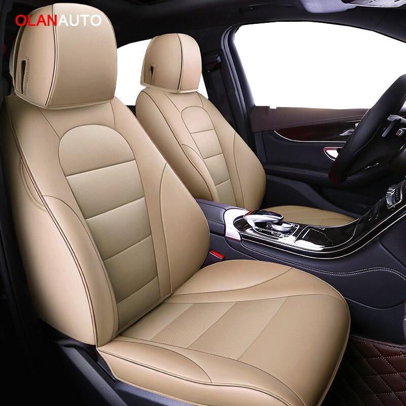 Housses de siège de voiture en cuir sur mesure pour skoda superb 2 3 octavia 2 a5 fabia 1 karoq rapid yeti Kodiaq 2018 housses pour siège de véhicule
