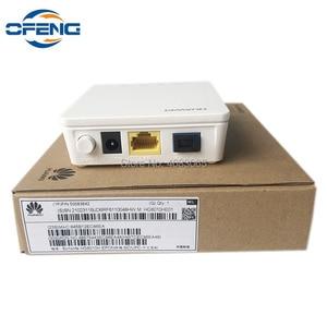 Image 3 - 50 pz nuovissimo Huawei HG8010H ont GPON ONU 1G SC UPC firmware apparecchiature di comunicazione ottica con adattatore di alimentazione, senza scatola