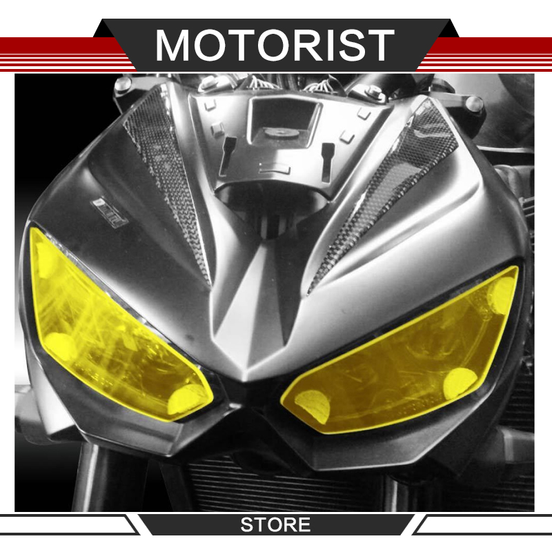 Motorcycle ABS accessories front lamp cover headlight protector for KAWASAKI <font><b>Z1000</b></font> 2014-2016 Z 1000 R <font><b>2019</b></font> image