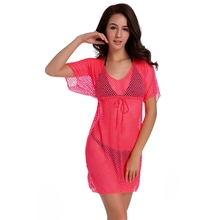 Hot Wholesale Mesh Stretch Cover Ups O N