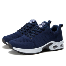 Men Air Cushion Sneakers Breathable Running Shoes M