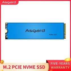 Asgard وصل حديثا M.2 ssd M2 PCIe NVME 1 تيرا بايت 2 تيرا بايت محرك الحالة الصلبة 2280 قرص صلب داخلي للكمبيوتر المحمول مع ذاكرة التخزين المؤقت