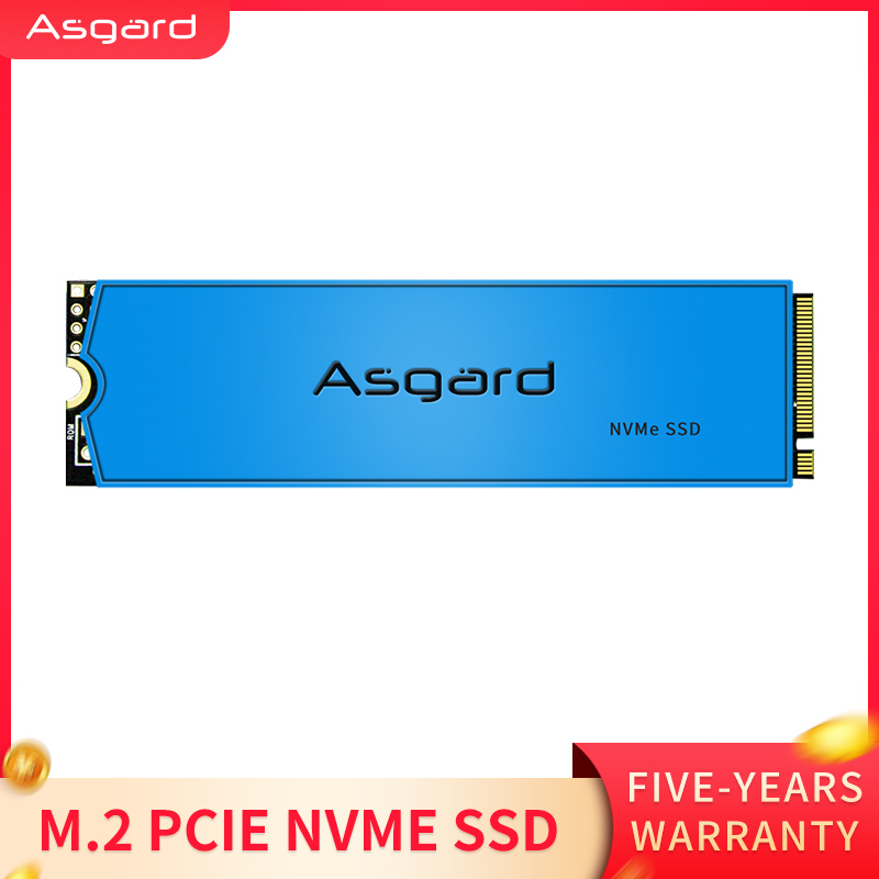 Asgard new arrival M.2 ssd M2 PCIe NVME 1TB 2TB Solid State Drive 2280 Internal Hard Disk for Laptop with cache(China)