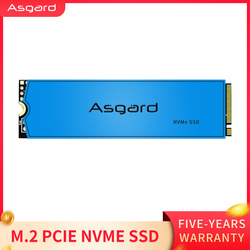Asgard nieuwe collectie M.2 ssd M2 PCIe NVME 1TB 2TB Solid State Drive 2280 Interne Harde Schijf voor laptop met cache