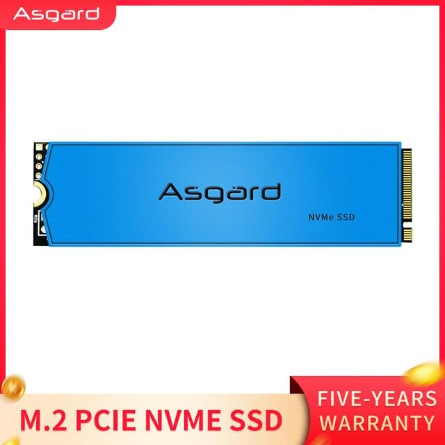 Asgard yeni varış M.2 ssd M2 PCIe NVME 1TB 2TB katı hal sürücü 2280 dahili sabit Disk dizüstü bilgisayar için önbellek ile