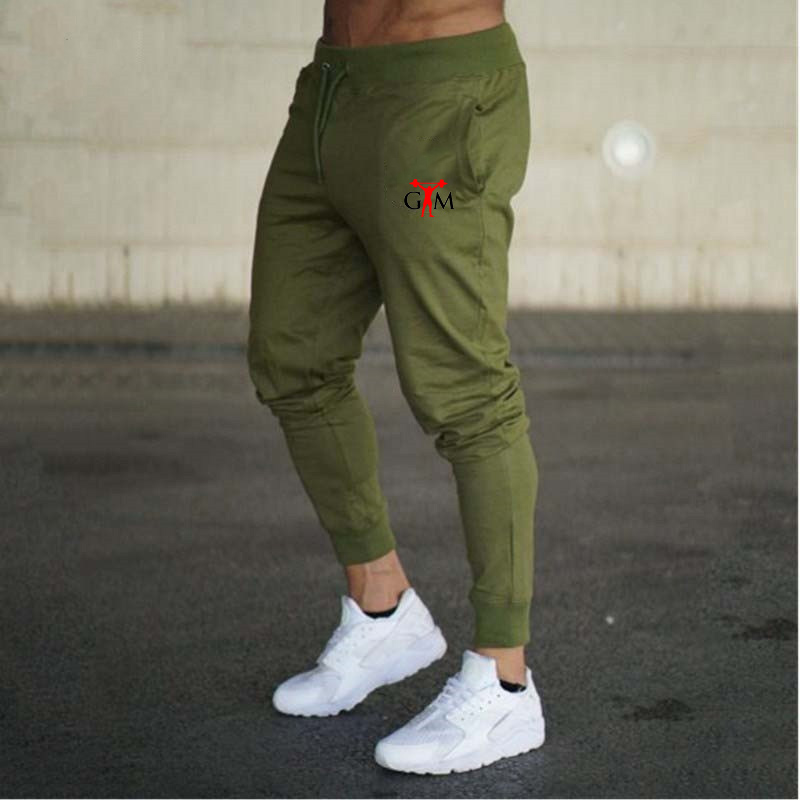 New Spring Autumn Brand Gyms Men Joggers Sweatpants Men's Joggers Trousers Sporting Clothing The High Quality Bodybuilding Pants 1