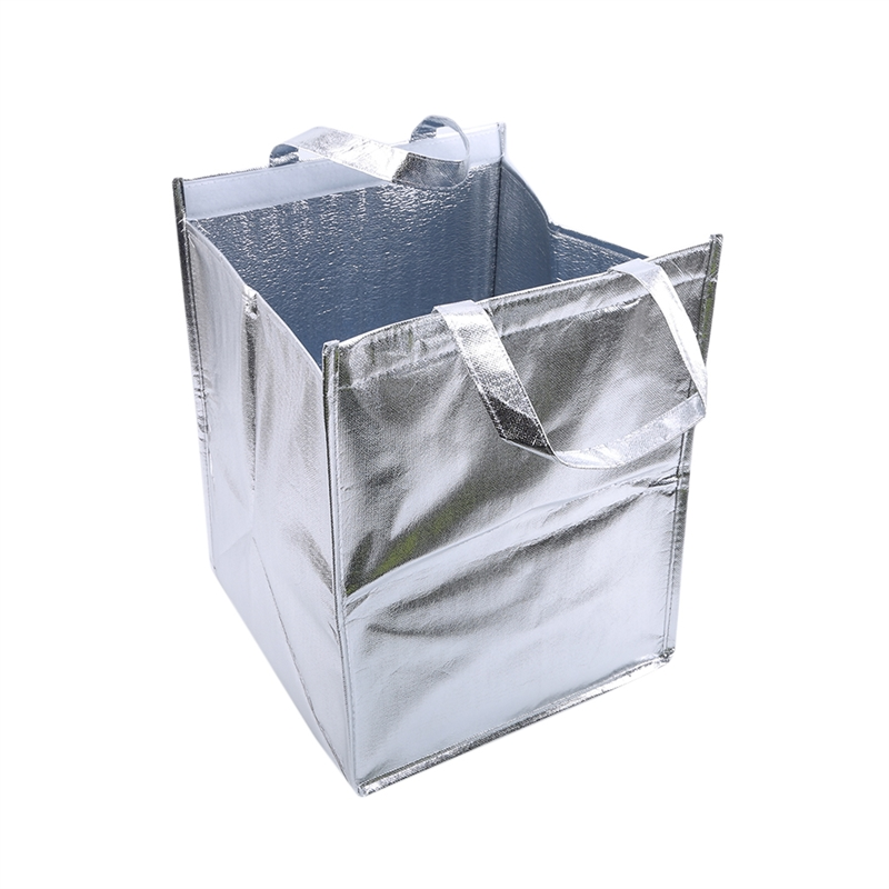 1Pcs Aluminum Foil Ice Storage Bags Insulated Beach Food Thermal Bag Durable Outdoor Boxes Foldable Cooler Bag Lunch Picnic Bag