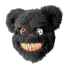 2020 New Arrivals Halloween Mask Bloody Teddy Bear Masquerade Scary Plush Performance Props