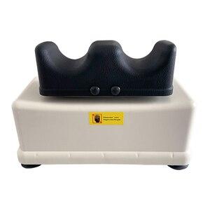 Image 2 - Elektrische Aerobic Swing Machine Rocking Voet Fitness Fysiotherapie Taille Massager Cervicale & Lumbale Wervelkolom Tractie Apparaat
