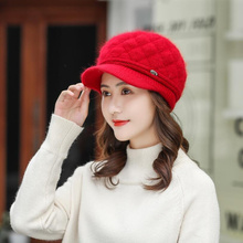 Bonnet Femme Women Beret  Wool Brand New Knitted Fashion Winter 2019 Warm Hats For Caps