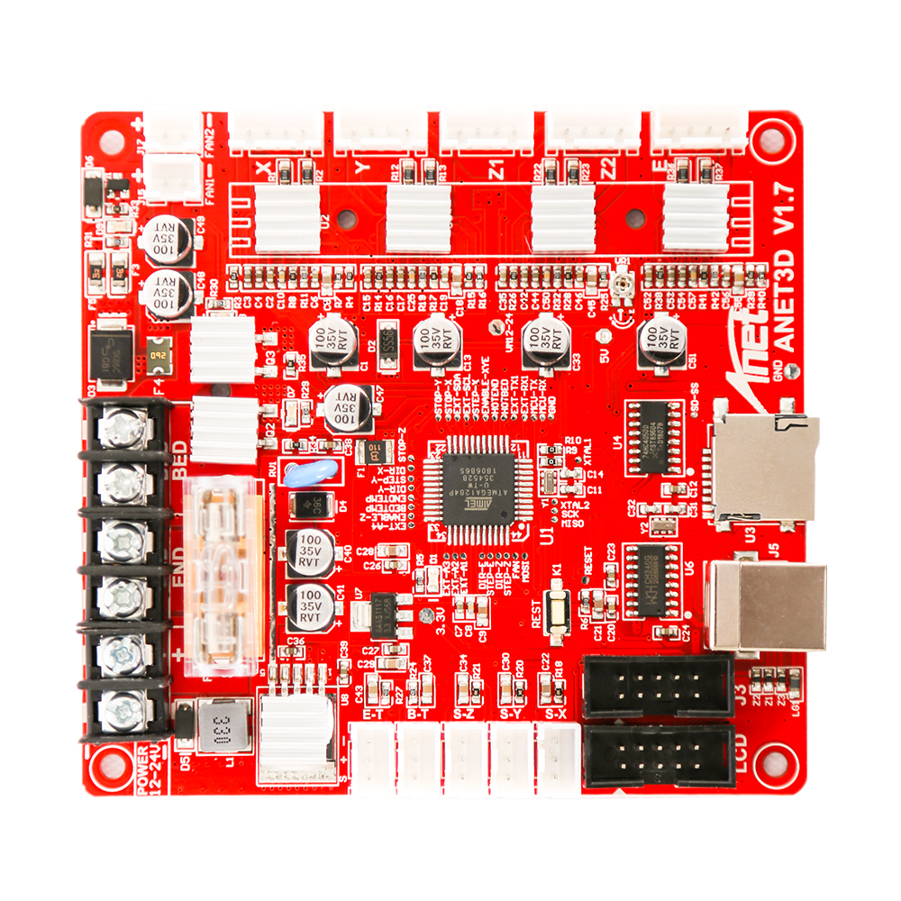 carte mere anet a8 AA1284 Base V1.7 Control Board Mother Board Mainboard for A