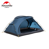 Naturehike factory sell Bear UL2 ultralight tent 2 person outdoor camping hiking 4 Season Windproof Tent BUY 1 43% OFF