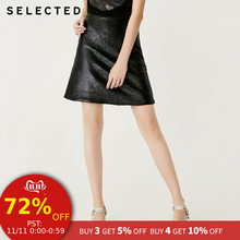SELECTED Paillette Trims Skirt S|41834C510