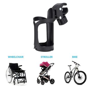 MTB Bicycle Water Bottle Holder PVC Baby Stroller Bottle Can Cage Bracket Cycling Drink Water Cup Rack Mount Cages Accessories bicycle black lightweight water bottle cage holder new cup rack riding supplies