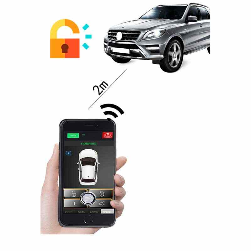 For lexus Keyless Entry Lock/Unlock The Car- Shaking Phone/App Control/Phone Sensor Old Car Upgrade Open Trunk Automatically