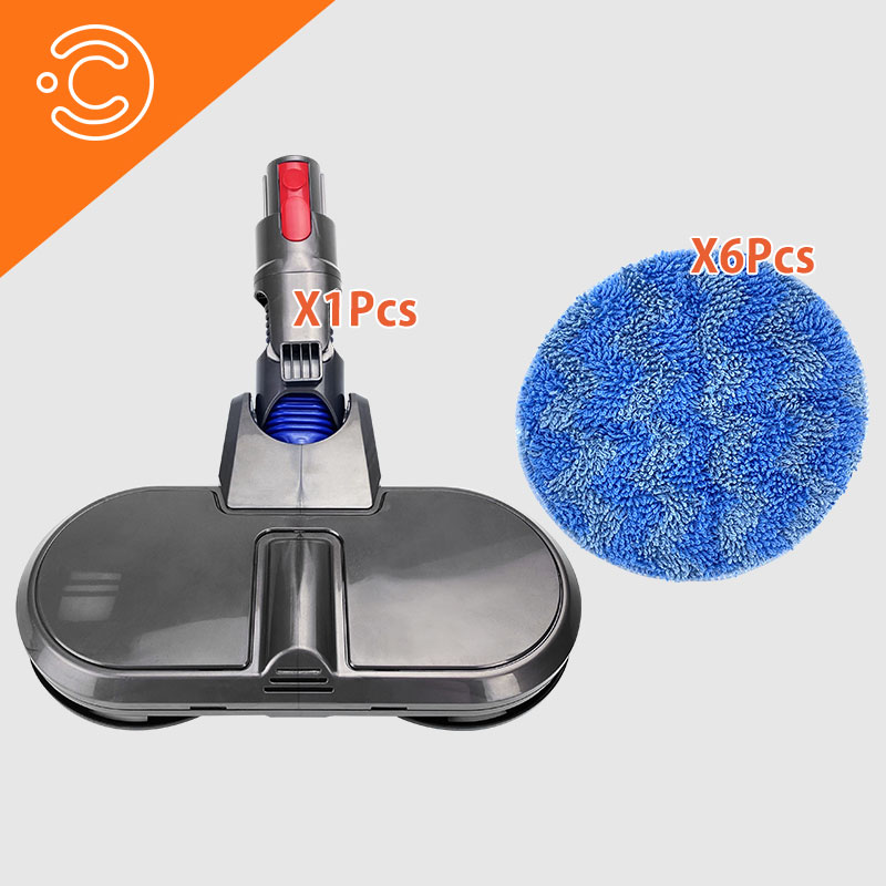 Electric Mopping Vacuum Cleaner Cleaning Cloth For Dyson V7 V8 V10 V11 Replaceable Parts