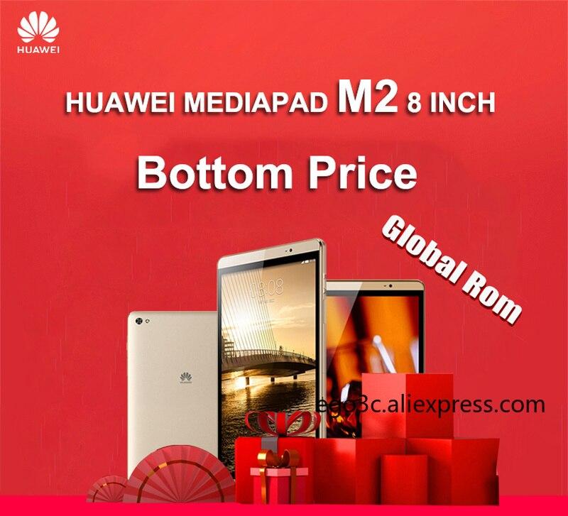 8 Inch Huawei Mediapad M2 2.0GHz Octa Core 3G Ram 32G / 64G Rom LTE / Wifi 4800mAh IPS  Kirin 930 8.0MP  Tablet PC Huawei M2