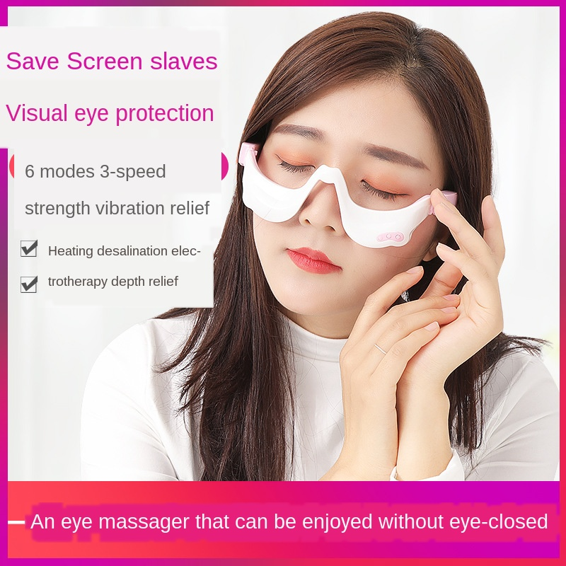 Massageador de olho beleza elétrica sob-olho inchado massagem instrumento de proteção para os olhos indutivo instrumento terapêutico