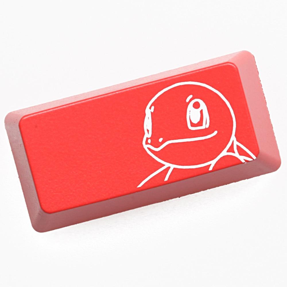 Novelty Shine Through Keycaps ABS back lit Etched black red enter backspace oem profile Pokémon Squirtle|Keyboards|Computer & Office - title=