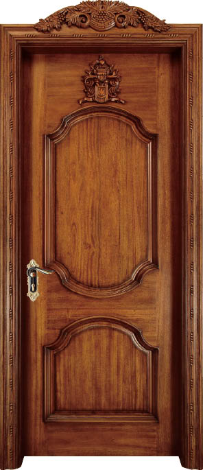 Luxury Carving Designs Thailand Oak Solid Wood Door Exterior Door Interior Wooden Doors C012