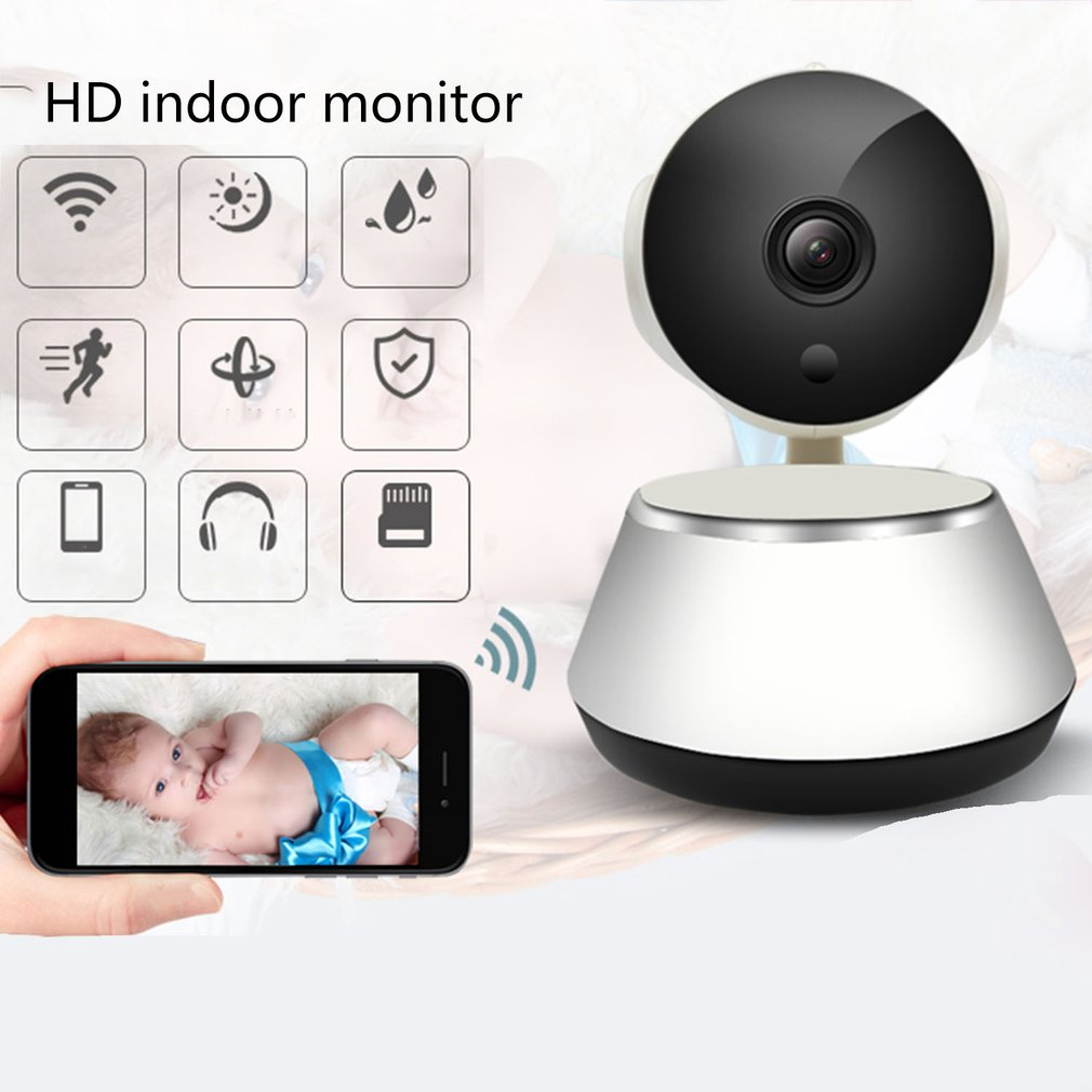 Wireless Surveillance Ip Camera Home Indoor And Outdoor Monitor Wireless WIFI Camera Mobile Phone Remote HD Night Vision Camera