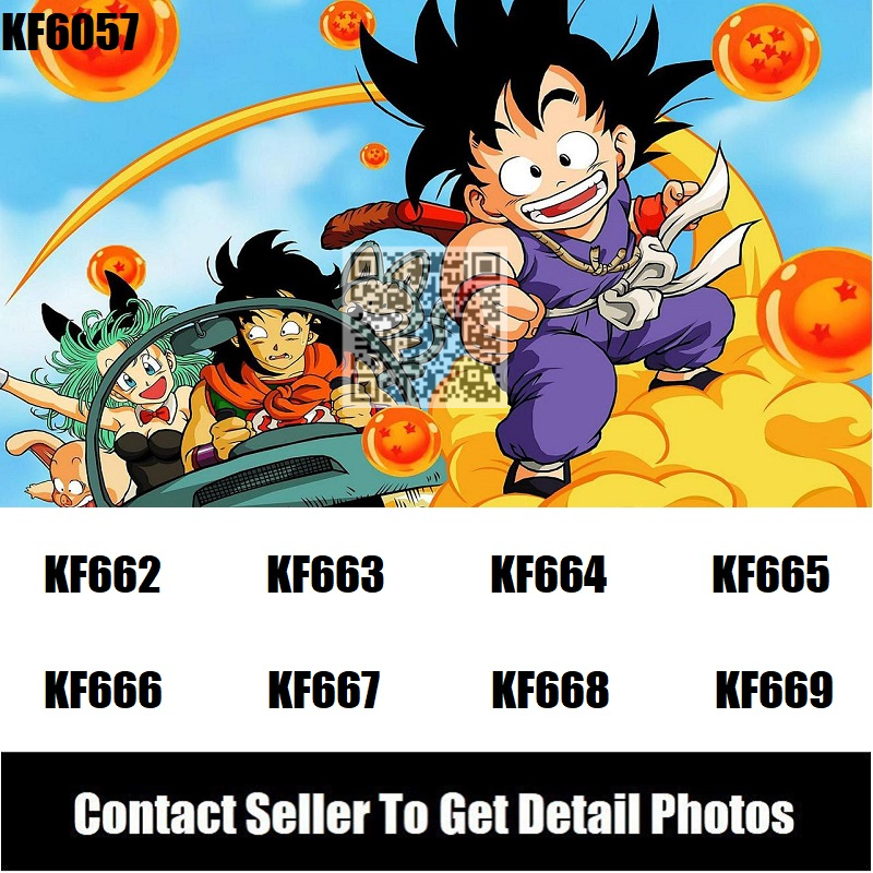 Dragon Ball Z Action Figures Freiza Black Goku Perfect Cell Majin Buu Super Heroes Building Blocks Children Toys Gift KF983