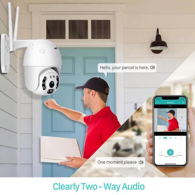 ANBIUX 1080P Security Camera WIFI Outdoor PTZ IP Camera CCTV 4 X Zoom 3