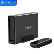 ORICO serii NS 3.5 ''USB3.0 USB C do przechowywania stacja dokująca HDD aluminium obudowa dysku twardego obsługuje UASP 16TB duża pojemność obudowa HDD
