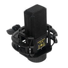 Square Condenser Microphone Omnidirectional Multifuctional for Studio Recording Podcasting Live Streaming Smartphones Computer