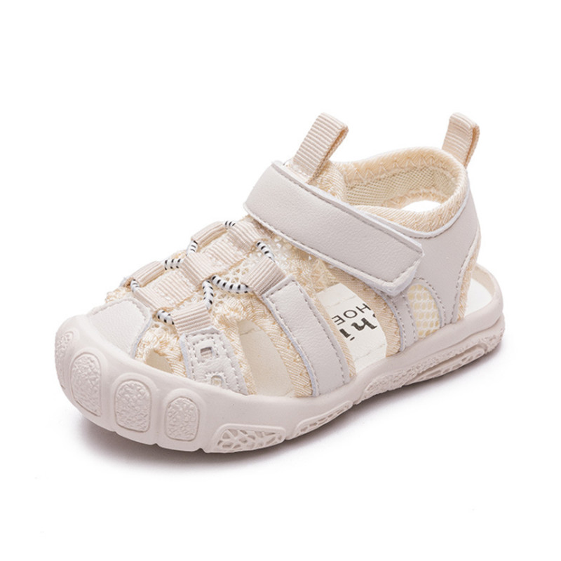 DIMI Summer Baby Shoes 2020 New 0-3 Years Summer Girl Baby Sandals Baotou Anti-kick Anti-slip Soft Sole Kid Beach Sandals