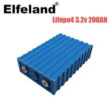 Elfeland 4PCS 3,2 V 200AH CALB lifepo4 lithium-eisen phosphat batterie solar battery12V 24V 48V 200AH EU duty-freies batterie