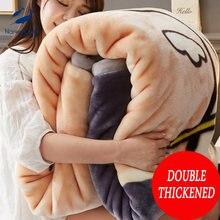 Одеяло для кровати весом 2 кг Фланелевое покрывало плотное теплое