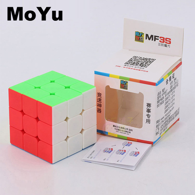 New MoYu 3x3x3 magic cube puzzle cubes professional speed cubo magico educational toys for students MF3SET 5