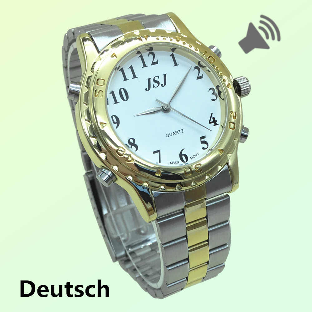 Good Looking German Talking Watch For The Blind And Elderly Or Visually Impaired People Deutsch Sprechende
