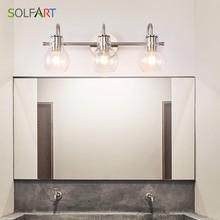 Wall Lighting Bath Vanity Light Brushed Nickel Wall Decor Ba