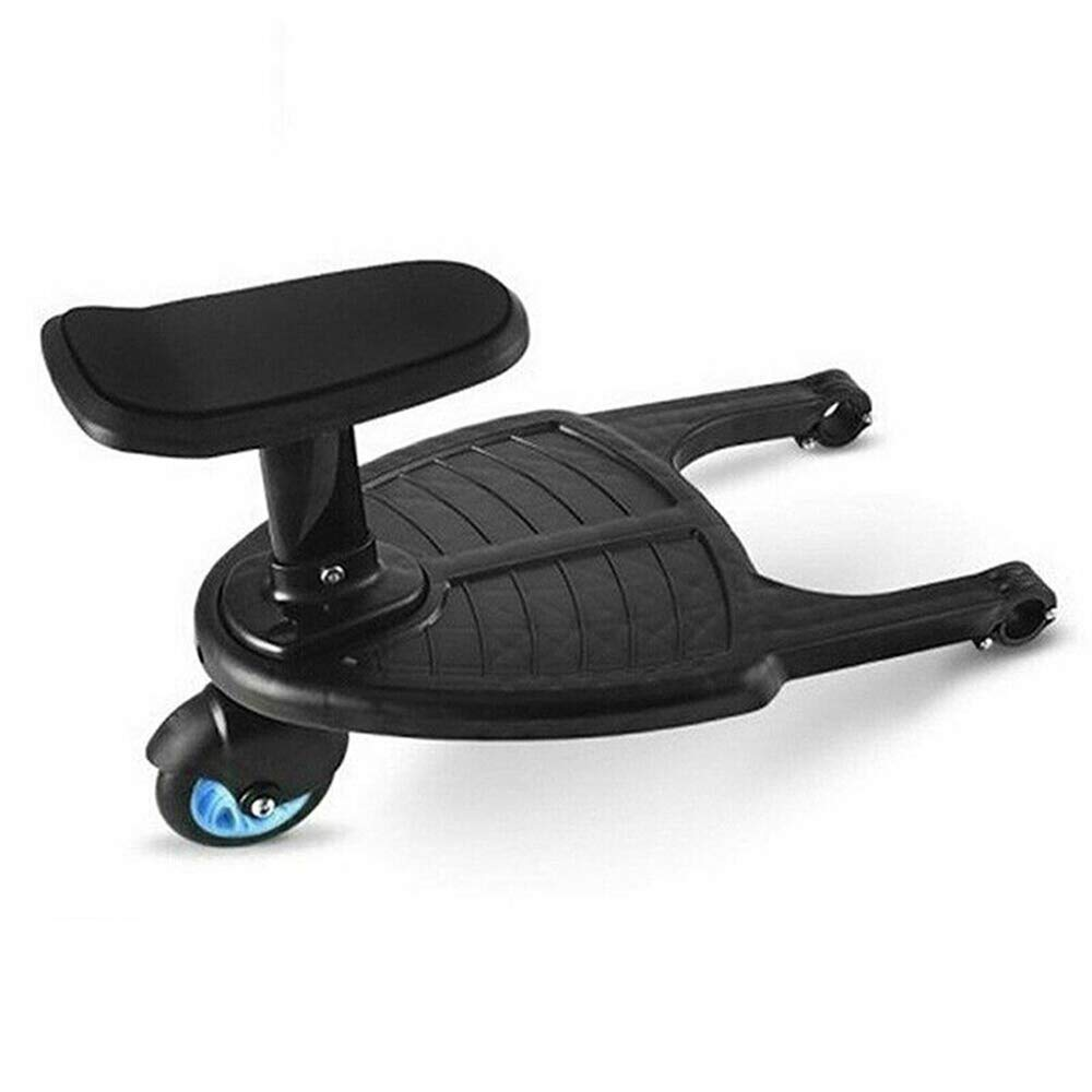 Mini Buggy Board With Seat,Standing Board,Seat Removable And Assembling(Ships To The UK)